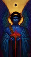Angel (untitled) by aeryael