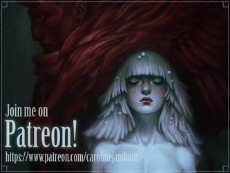 I'm on Patreon! by aeryael
