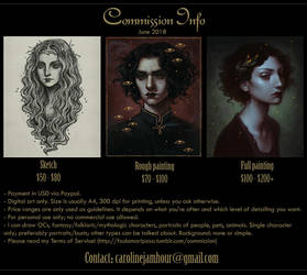 Commissions info by aeryael