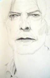 a David Bowie sketch by aBitBosch