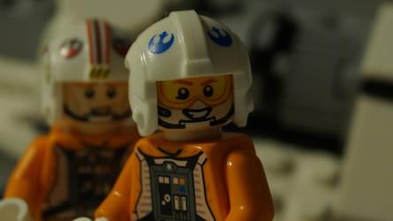 Lego Star Wars: Dak Ralter and Luke Skywalker by starwars98