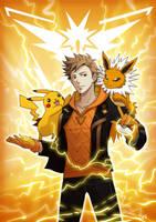 [Pokemon Go) Spark by saeko-doyle