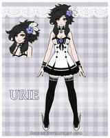 OC Ref - Urie by Norieh