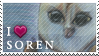 Stamp - I love Soren (Legend of the Guardians) by Shaymin-Lea