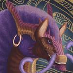 Koolifu the Afro Dragon by Koolifu