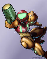 samus color practice by Anaugi