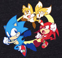 Sonic and Friends Shirt by Anaugi
