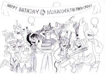 HAPPY BIRTHDAY MORRODERTHEFREAKYGUY! by BreakoutClub