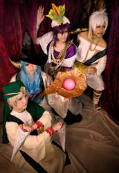 Magi: The King and His Trusted Generals by ringo-031