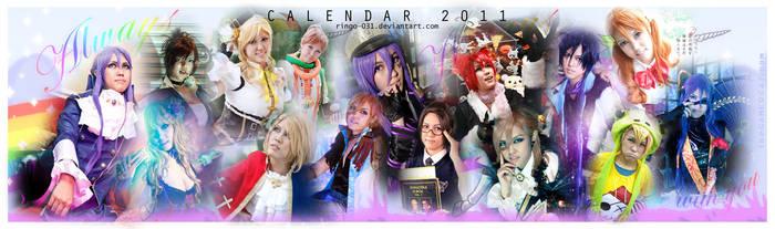 Cosplay Calendar 2011 by ringo-031