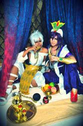 Magi: Best Drinking Buddies! by ringo-031