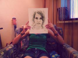 My Portrait. by Arigulla