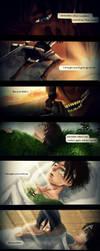 [Mikasa x Eren] But you didn't.. [Comic] by xXMarilliaXx