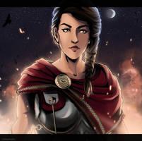 [Assassin's Creed Odyssey] Kassandra by xXMarilliaXx