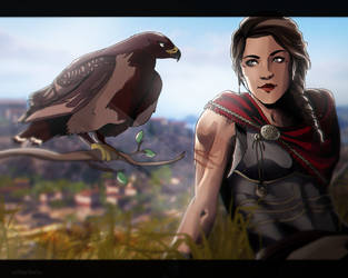 [Assassin's Creed Odyssey] Ikaros by xXMarilliaXx