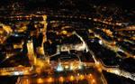 City at Night 8 by hquer
