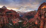 Zion National Park Wallpaper by hquer