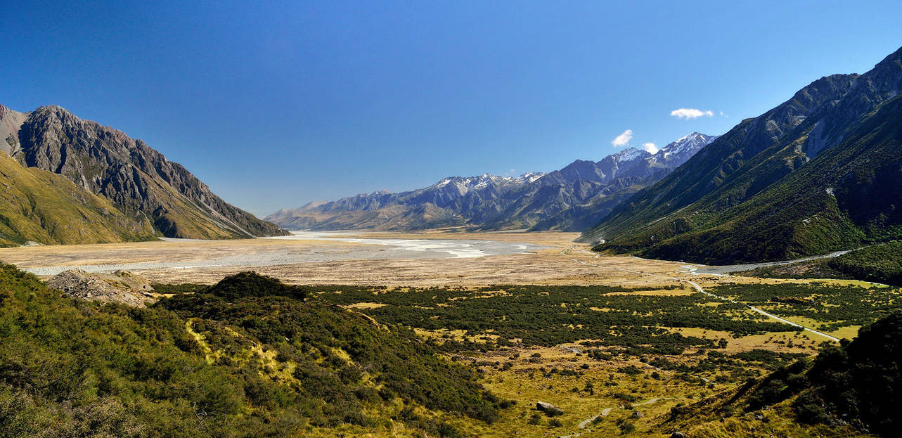 New Zealand, Mt. Cook by hquer