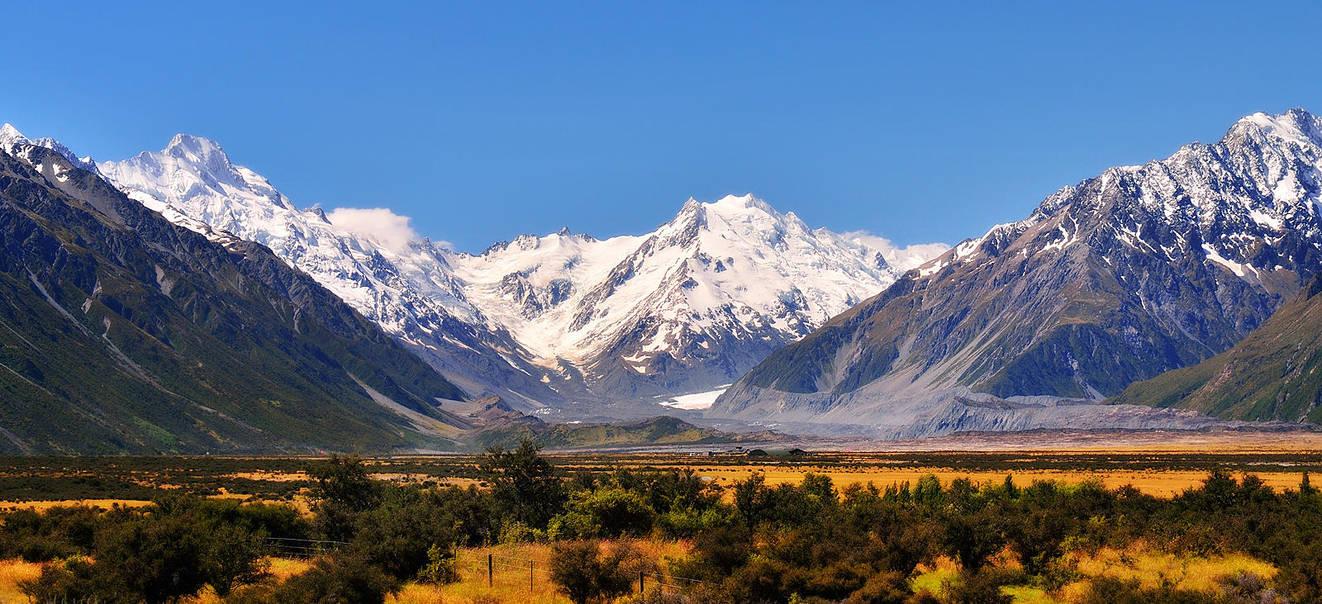 Mt. Cook Again by hquer
