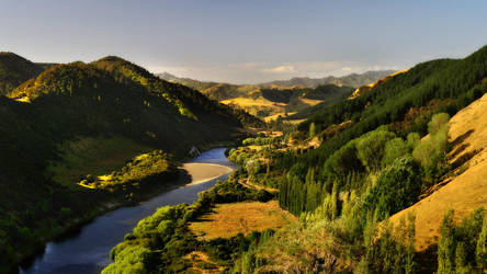 Whanganui River by hquer