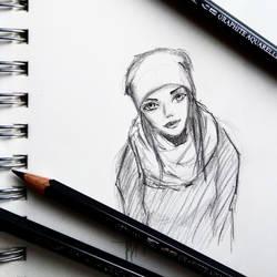 Touque Girl by PixelMistArt