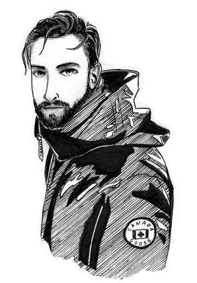 Canada Day Guy by PixelMistArt
