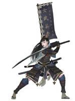 Samurai by Midfinger