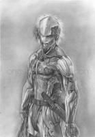 MGS4 - Raiden by ong92