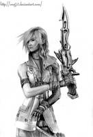 Final Fantasy XIII - Lightning by ong92