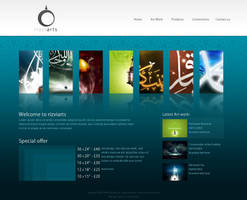 rizviarts website by rizviArts