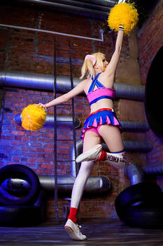 Lollipop Chainsaw cosplay Juliet Starling by ZyunkaMukhina