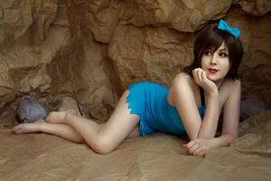 The Flintstones - Betty Rubble cosplay by ZyunkaMukhina