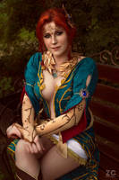 Triss Merigold from The Witcher:Wild Hunt by ZyunkaMukhina