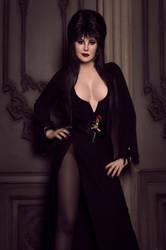 Halloween: Elvira Mistress of the Dark by ZyunkaMukhina