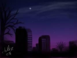 A Cold Night in Chukkztown by Chukkz