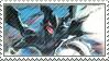Zekrom Stamp by FireFlea-San