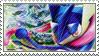 Greninja Stamp by FireFlea-San