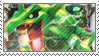 Rayquaza Stamp by FireFlea-San