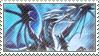Blue-Eyes White Dragon Stamp by FireFlea-San