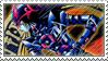 Dark Magician of Chaos Stamp by FireFlea-San
