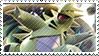 Tyranitar EX Stamp by FireFlea-San
