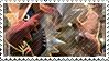 Tyrantrum stamp by FireFlea-San