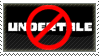 Anti Undertale stamp by FireFlea-San