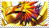 Phoenixmon Stamp by FireFlea-San