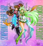 CO- Symphonic Harp and Peridot by FireFlea-San