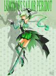 CO- Luminous Sailor Peridot by FireFlea-San
