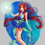 Sailor Asteria (Secret Senshi 2018) by FireFlea-San