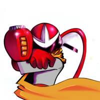 Protoman by B-a-n-d-i-t