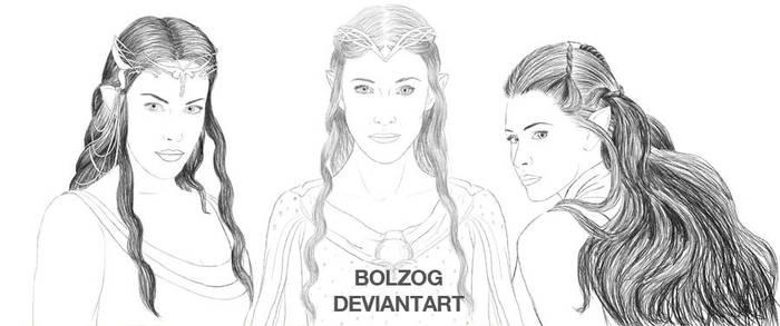 Female wisdom (WIP) by Bolzog