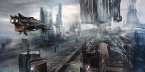 Cityscape by ldimonl